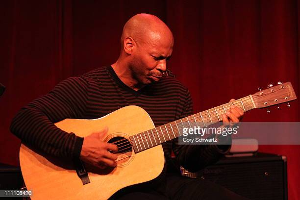Kevin Eubanks performs at Birdland Jazz Club on March 29 2011 in New York City
