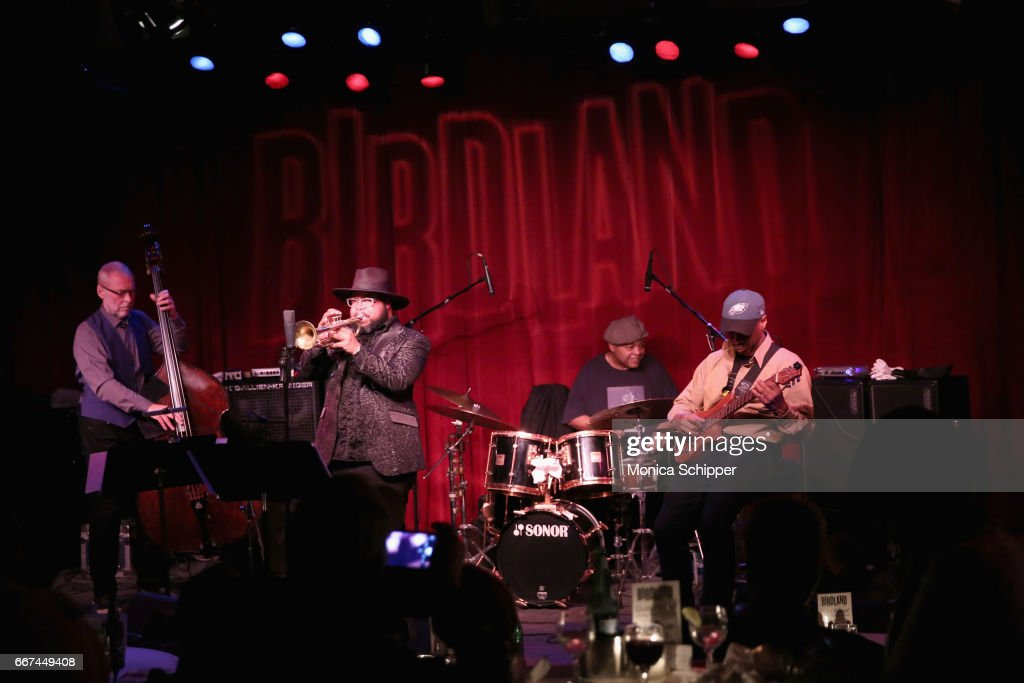 """Kevin Eubanks' """"East West Time Line"""" Album Release Party At Birdland Jazz Club, April 11, 2017 - New York, New York"""