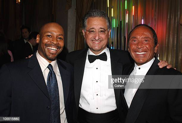 Kevin Eubanks 'Tonight Show' theme composer Classic Contribution Award winnerDel Bryant president/CEO of BMI and Paul Anka 'Tonight Show' theme...