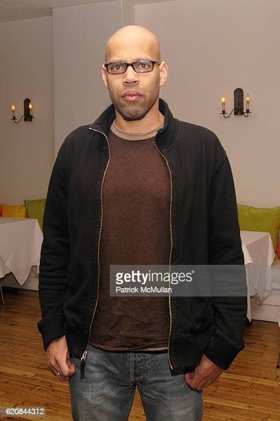 Kevin Everson attends Whitney Biennial Artists Party at Trata Estiatoria on March 8 2008 in New York City