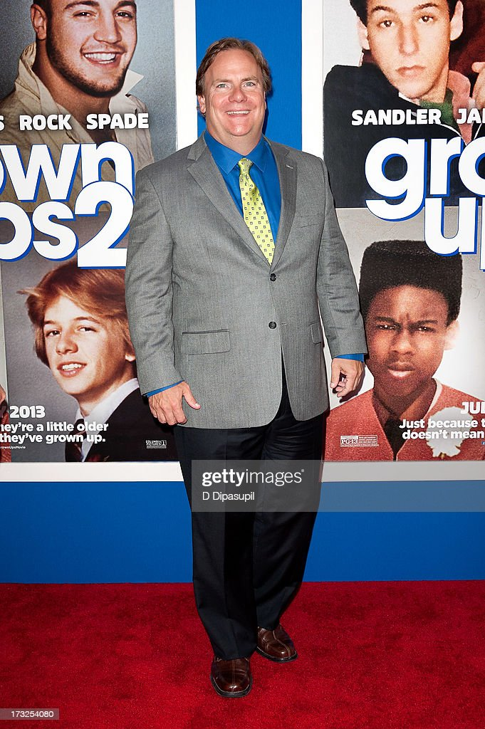 Kevin Farley attends the 'Grown Ups 2' New York Premiere at AMC Lincoln Square Theater on July 10, 2013 in New York City.