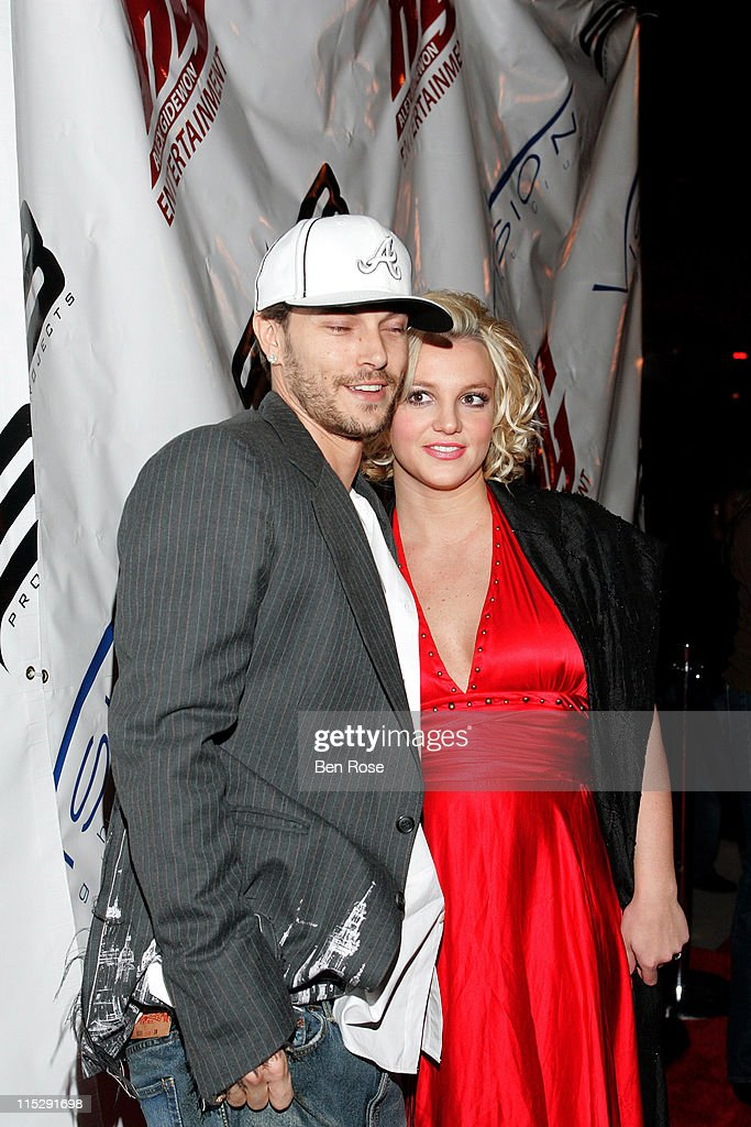 Kevin Federline and Britney Spears during Belated Birthday Party for Kevin Federline with Britney Spears Hosted by Scooter Braun Arrivals at Vision...