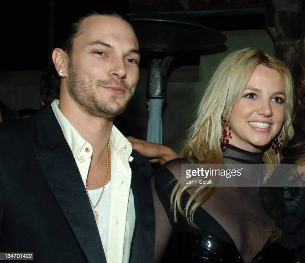 Kevin Federline and Britney Spears during Mariah Carey and Jermaine Dupri Host GRAMMY After Party Sponsored by LG at Private Home in Hollywood...