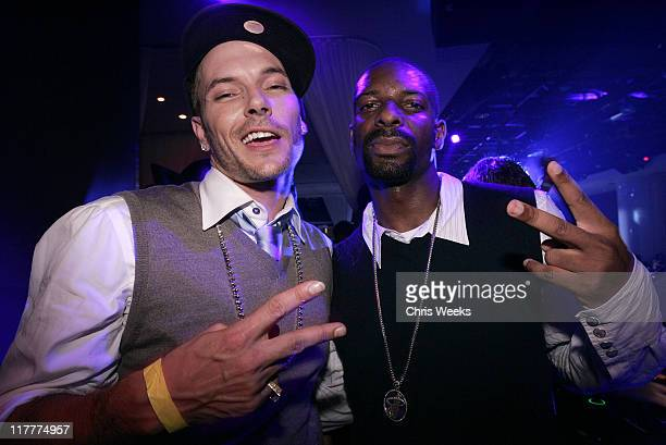 Kevin Federline and DJ Irie during Kevin Federline Music Video Shoot After Party at Pure Nightclub – Inside at Pure Nightclub in Las Vegas Nevada...