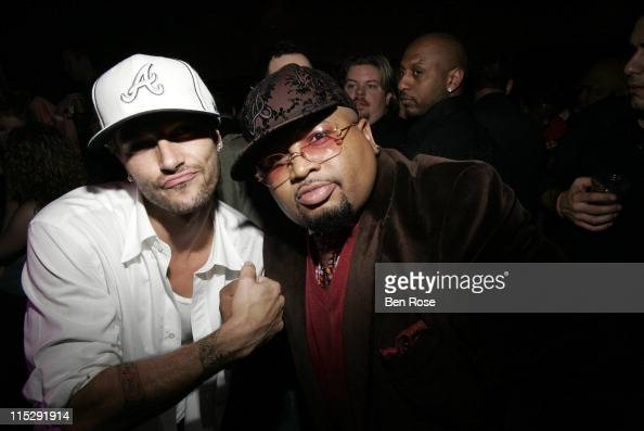 Kevin Federline and Jazze Pha during Belated Birthday Party for Kevin Federline with Britney Spears Hosted by Scooter Braun Inside at Vision...