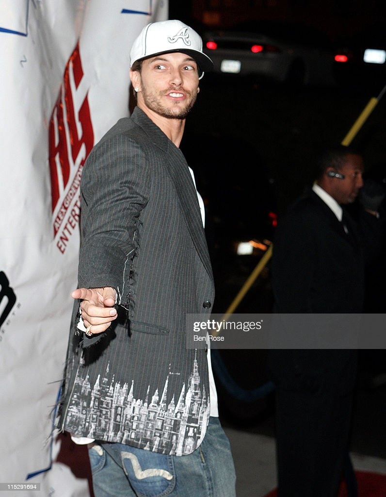 Kevin Federline during Belated Birthday Party for Kevin Federline with Britney Spears Hosted by Scooter Braun Arrivals at Vision Nightclub Lounge in...