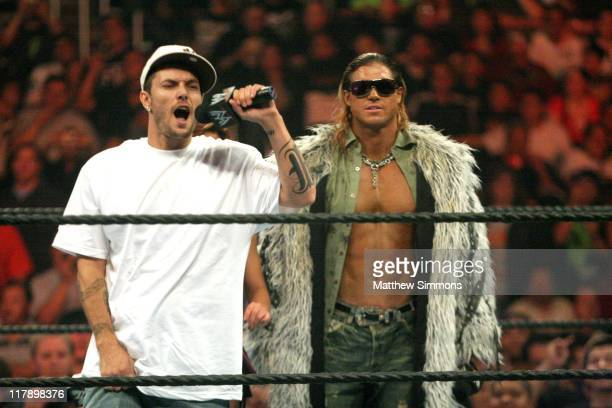 Kevin Federline during WWE Monday Night RAW with Surprise Guest Kevin Federline at The Staples Center in Los Angeles California United States