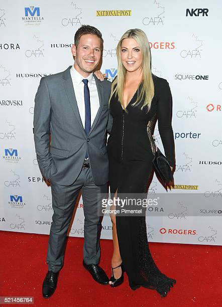 Kevin Foley and Cheryl Hickey attend the 3rd Annual Canadian Arts And Fashion Awards held at the Fairmont Royal York Hotel on April 2016 in Toronto...