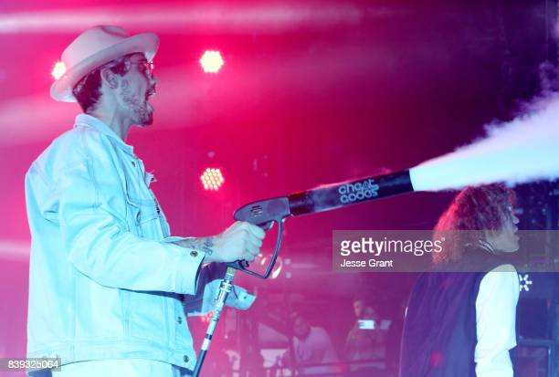 Kevin Ford of Cheat Codes performs onstage during MTV Presents 'VMA Weekend' at Avalon on August 25 2017 in Hollywood California