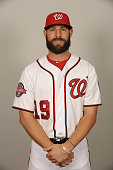 Kevin Frandsen of the Washington Nationals poses during Photo Day on Sunday March 1 2015 at Space Coast Stadium in Viera Florida