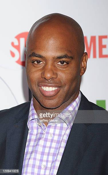 Kevin Frazier arrives at the TCA Party for CBS The CW and Showtime held at The Pagoda on August 3 2011 in Beverly Hills California