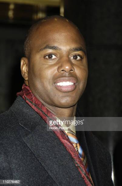 Kevin Frazier during 'The Color Purple' Broadway Opening Night After Party at The New York Public Library in New York City New York United States