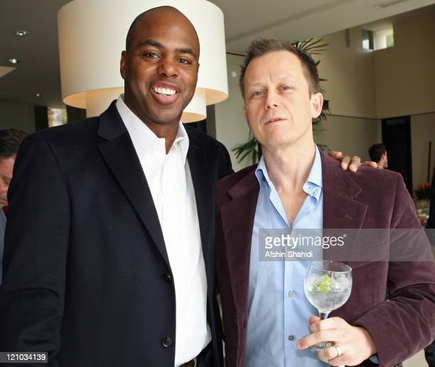 Kevin Frazier Entertainment Tonight's and Stephen Perrine BESTLIFE Editor In Chief