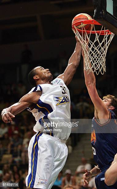 Kevin Freeman of the Bullets in action during the NBL Basketball match between the West Sydney Razorbacks and the Brisbane Bullets at State Sports...