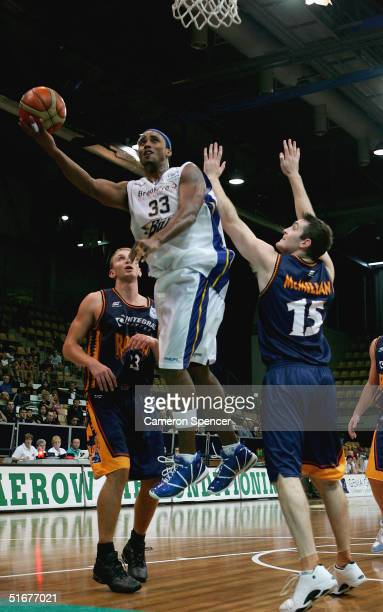 Kevin Freeman of the Bullets in action during the NBL basketball match between the West Sydney Razorbacks and the Brisbane Bullets at Sydney Olympic...