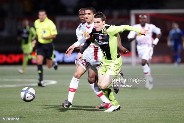 Kevin GAMEIRO Nancy / Lorient 10e journee Ligue 1