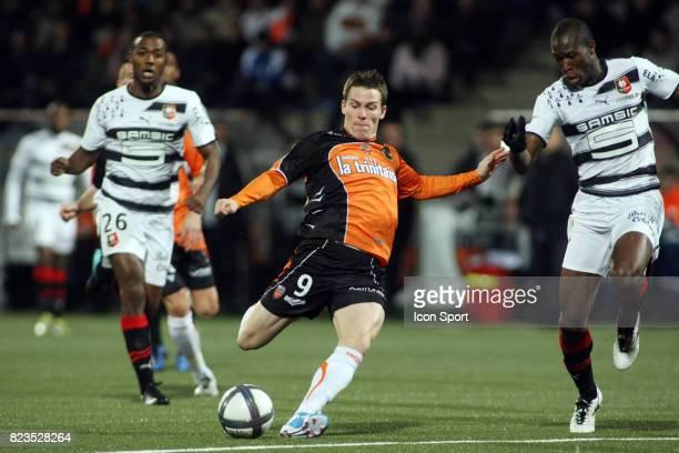 Kevin GAMEIRO Lorient / Rennes 15eme journee de Ligue 1