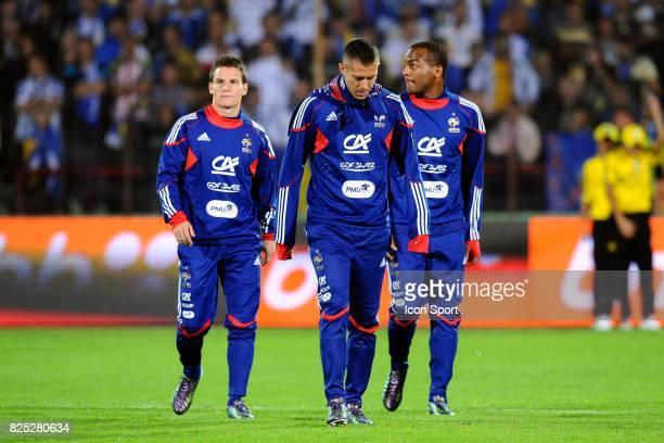 Kevin Gameiro / Jeremy Menez / Jimmy Briand Bosnie Herzegovine / France Qualifications Euro 2012 Sarajevo