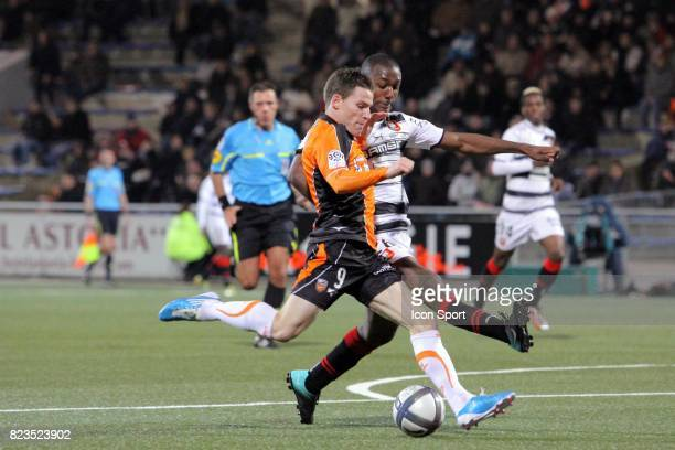 Kevin GAMEIRO / Kevin THEOPHILE CATHERINE Lorient / Rennes 15eme journee de Ligue 1