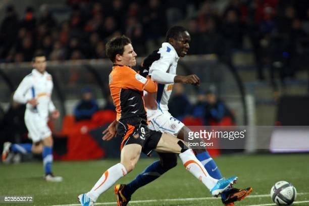 Kevin GAMEIRO / Mapou YANGA MBIWA Lorient / Montpellier 19eme journee de Ligue 1