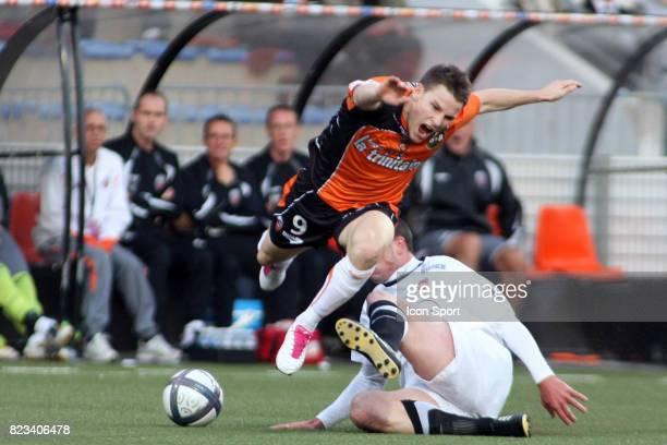 Kevin GAMEIRO / Nicolas PALLOIS Lorient / Valenciennes 9eme journee de Ligue 1