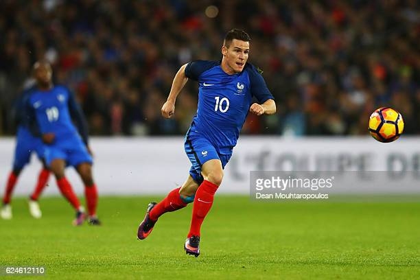 Kevin Gameiro of France in action during the International Friendly match between France and Ivory Coast held at Stade Felix Bollaert Deleis on...