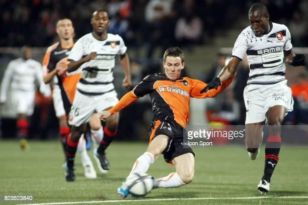 Kevin GAMEIRO / Rod FANNI Lorient / Rennes 15eme journee de Ligue 1