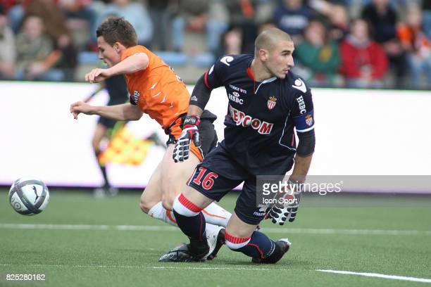Kevin GAMEIRO / Stephane RUFFIER Lorient / Monaco 7eme journee de Ligue 1