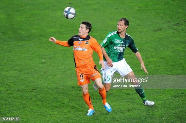 Kevin GAMEIRO / Sylvain MARCHAL Saint Etienne / Lorient 12eme journee de Ligue1