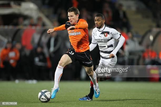 Kevin Gameiro / Yann MVila Lorient / Rennes 15eme journee de Ligue 1