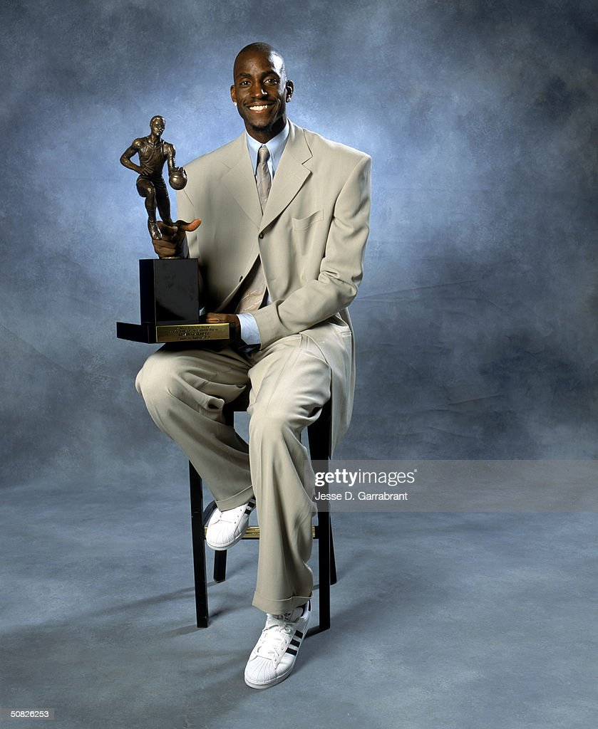 NBA MVP Kevin Garnett s and