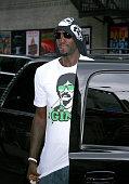 Kevin Garnett seen walking on June 18 2008 on Streets of Manhattan in New York