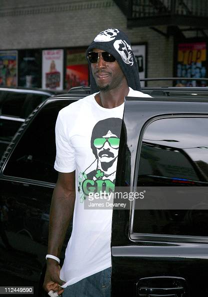 Kevin Garnett seen walking on June 18 2008 on Streets of Manhattan in New York