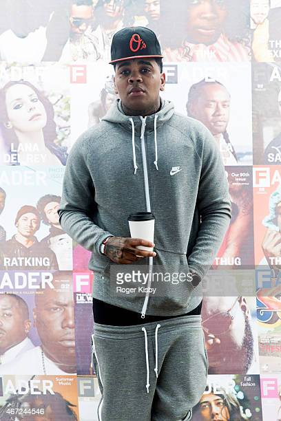 Kevin Gates attends The FADER FORT Presented by Converse during SXSW on March 21 2015 in Austin Texas