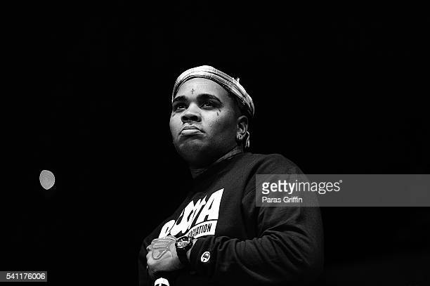 Kevin Gates performs onstage at Hot 1079 Birthday Bash at Philips Arena on June 18 2016 in Atlanta Georgia