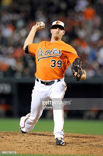 Kevin Gausman of the Baltimore Orioles pitches against the New York Yankees at Oriole Park at Camden Yards on September 3 2016 in Baltimore Maryland