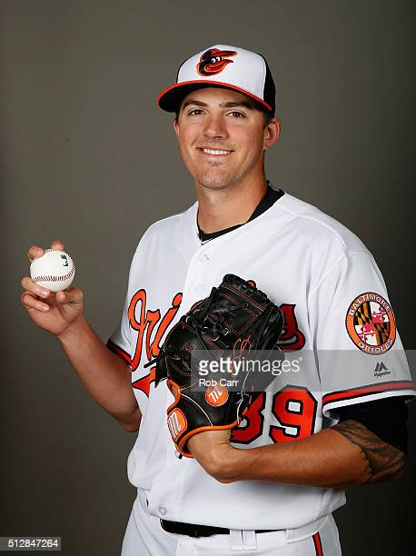 Kevin Gausman of the Baltimore Orioles poses during photo day at Ed Smith Stadium on February 28 2016 in Sarasota Florida