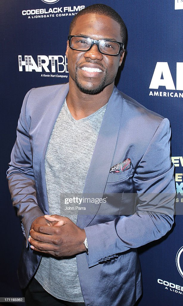 Kevin Hart attends the the 'Let Me Explain' Premeire during the American Black Film Festival 2013 at Gusman Center for the Performing Arts on June 22...