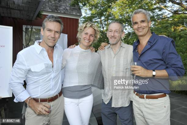 Kevin Hart Doreen Atkins Jon Gilman and Emmanuel Faccio attend GODS LOVE WE DELIVERMid Summer Night Drinks Benefit at Home of Chad A Leat on June 19...