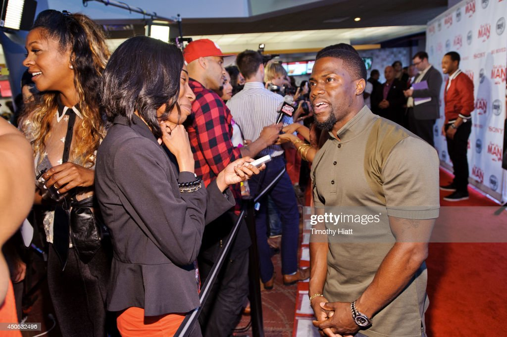 <a gi-track='captionPersonalityLinkClicked' href=/galleries/search?phrase=Kevin+Hart+-+Actor&family=editorial&specificpeople=4538838 ng-click='$event.stopPropagation()'>Kevin Hart</a> interacts with fans and the media at a screening of 'Think Like A Man Too' at the Showplace Icon Theater on June 12, 2014 in Chicago, Illinois.