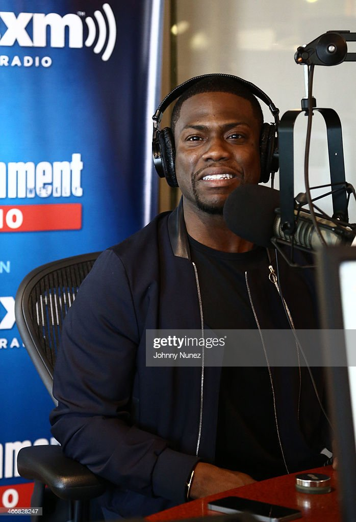Kevin Hart invades 'The Whoolywood Shuffle' at SiriusXM Studios on February 4, 2014 in New York City.
