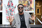 Kevin Hart Hand And Footprint Ceremony At the TCL...