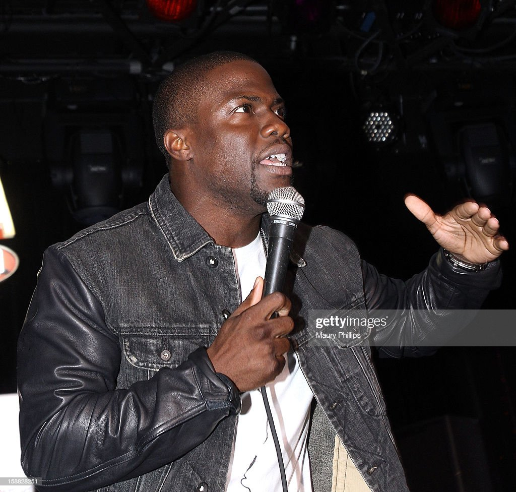Kevin Hart onstage during Real Husbands of Hollywood Kick off Party at The Conga Room at L.A. Live on December 29, 2012 in Los Angeles, California.