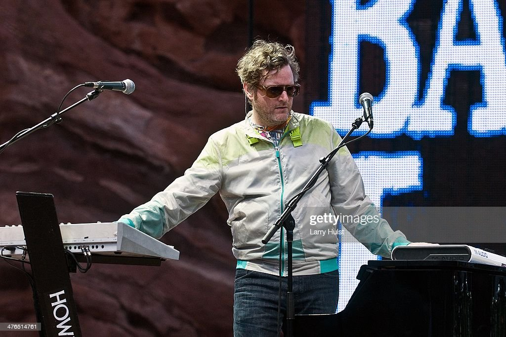 Kevin Hearn playing with 'Barenaked Ladies' ' performing at Red Rocks Amphitheatre in Morrison Colorado on June 9 2012