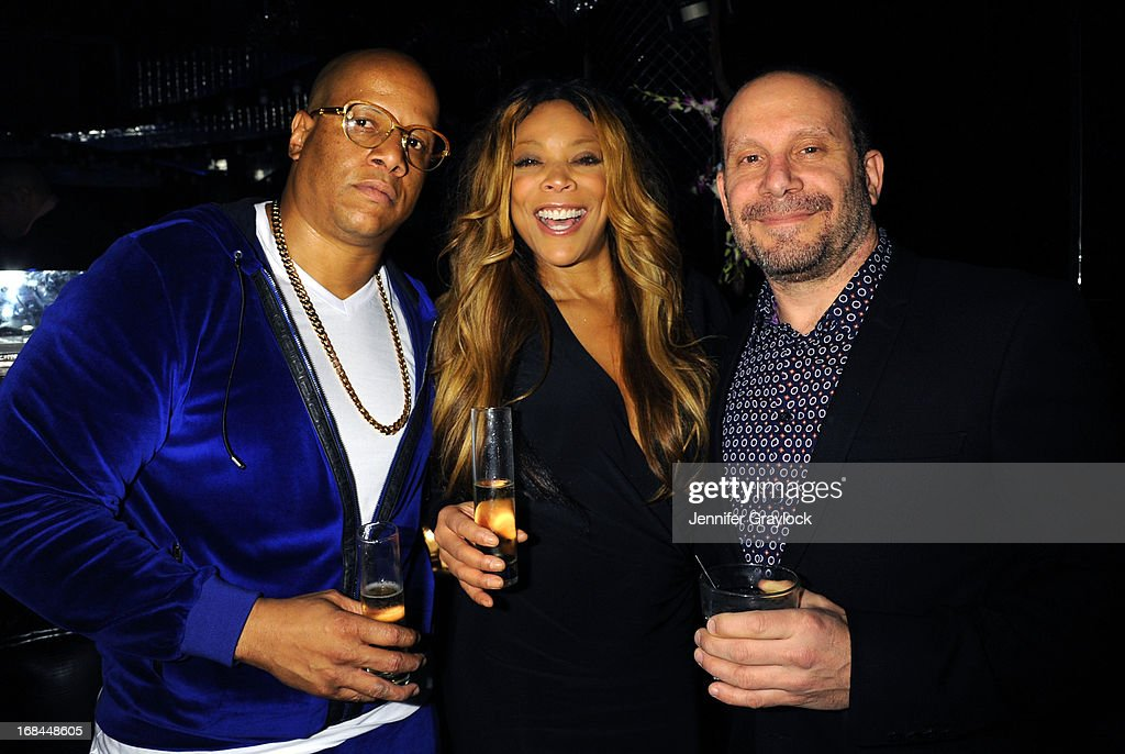 Kevin Hunter and <a gi-track='captionPersonalityLinkClicked' href=/galleries/search?phrase=Wendy+Williams&family=editorial&specificpeople=4134023 ng-click='$event.stopPropagation()'>Wendy Williams</a> (C) attend the <a gi-track='captionPersonalityLinkClicked' href=/galleries/search?phrase=Wendy+Williams&family=editorial&specificpeople=4134023 ng-click='$event.stopPropagation()'>Wendy Williams</a> Debuts 'Ask Wendy' By Harper Collins Book Release Party at The Pink Elephant on May 9, 2013 in New York City.