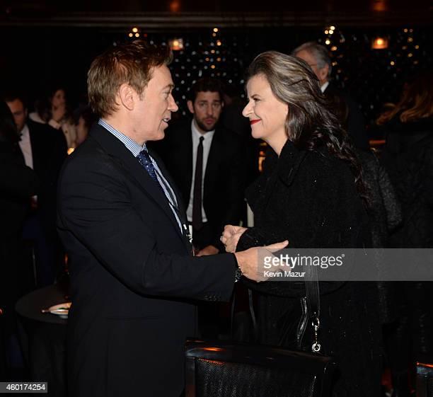Kevin Huvane and Tracey Ullman attend the after party for the world premiere of 'Into the Woods' at The Edison Ballroom on December 8 2014 in New...
