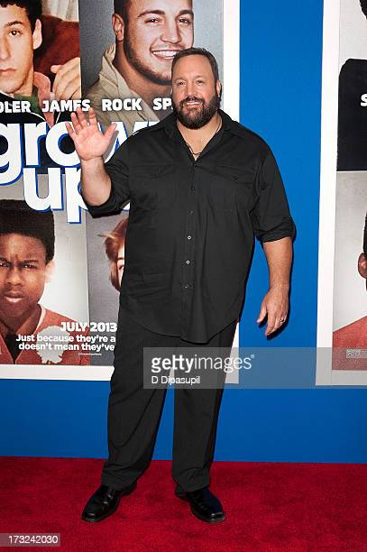 Kevin James attends the 'Grown Ups 2' New York Premiere at AMC Lincoln Square Theater on July 10 2013 in New York City