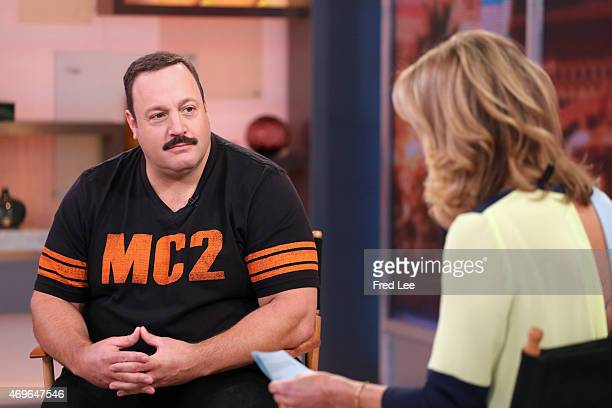 AMERICA Kevin James is a guest on 'Good Morning America' 4/13/15 airing on the ABC Television Network