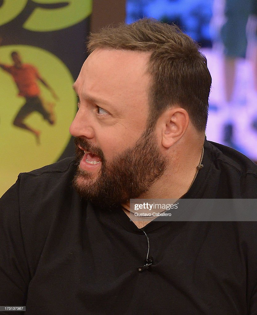 Kevin James of 'Grown Ups 2' cast appears on Univisions 'Despierta America' to promote the movie at Univision Headquarters on July 8, 2013 in Miami, Florida.