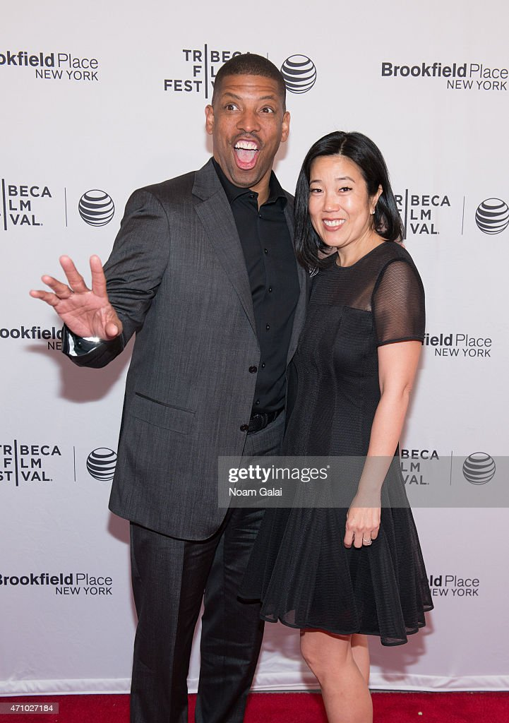 Kevin Johnson and Michelle Johnson attend the 'Down In The Valley' premiere during the 2015 Tribeca Film Festival at SVA Theater 1 on April 24 2015...